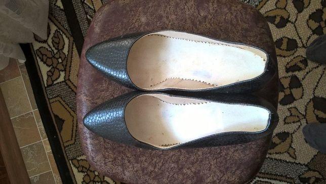 Туфлі жіночі кожа