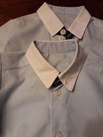 Koszule roz 62 dla bliźniąt