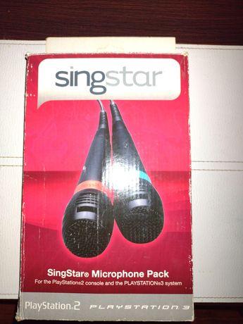 Mikrofony SingStar sing star PS 2 PS 3