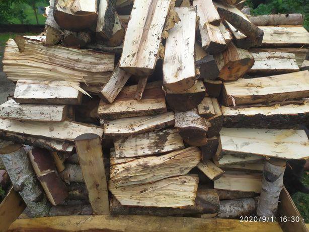 drewno drzewo kominkowe opałowe tanio transport