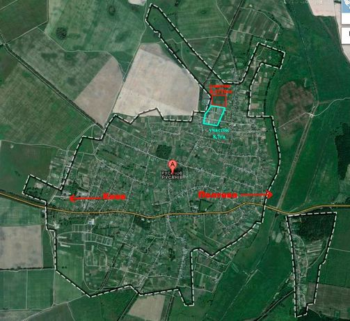 Оренда земельної ділянки 5 Га не далеко від м. Бровари
