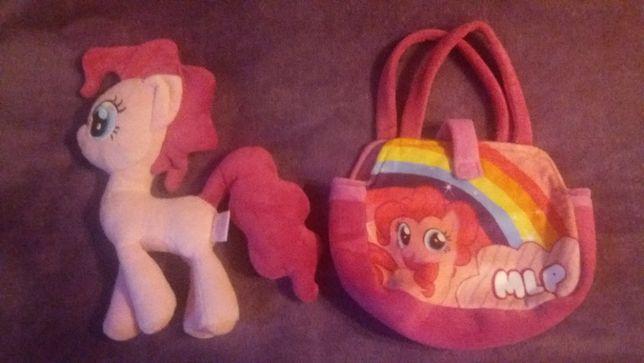 Konik Little Pony Pinkie Pie z torebką 31 cm