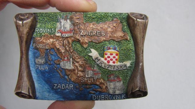 Продам магнит на холодильник Хорватия магнитик