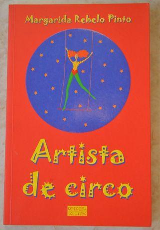 """Livro """" Artista de Circo"""" - Margarida Rebelo Pinto"""