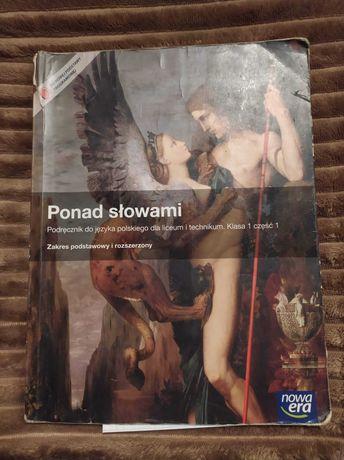 książka ponad słowami klasa 1 czesc 1