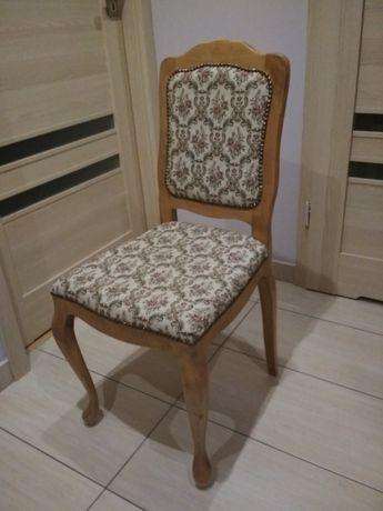 Krzeslo stylowe, 2szt, pokryte gobelinem