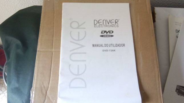 Manual do Utilizador Denver DVD 726K