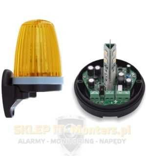 Lampa led do napędów 12, 24, 230V z podstawką, automatyka bramowa
