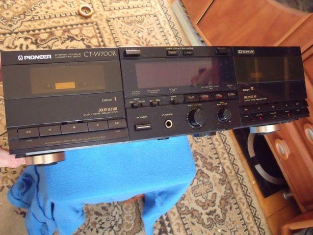 Magnetofon typu Deck Pioneer CT-W700R Stereo