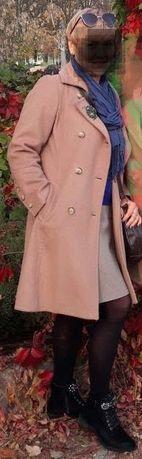Кашемировое классическое демисезонное женское пальто
