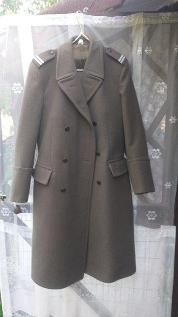 Płaszcz wojskowy sukienny