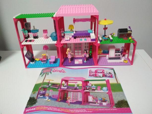 Domek mega bloks barbie 80149