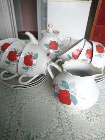 Чайний сервіз на 6 персон часів ссср
