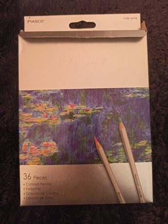 Набор цветных акварельных карандашей Marco Raffine, 36 цветов