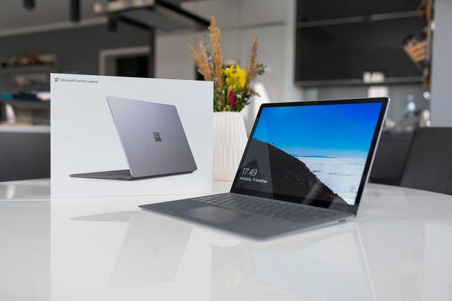 "Laptop dotykowy Microsoft Surface Laptop 3 13,5"" alcantara rysik gwara"