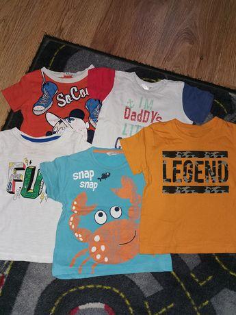 Koszulki w rozmiarze 80 / 86