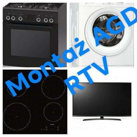 Montaż,Demontaż AGD,RTV,Elektryczne,Gazowe