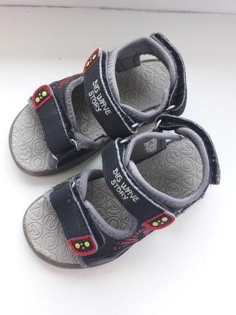 Sandałki chłopiec