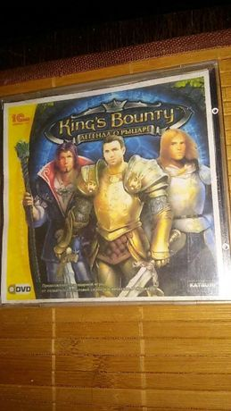 """Диск """"King's Bounty: легенда о рыцаре"""""""