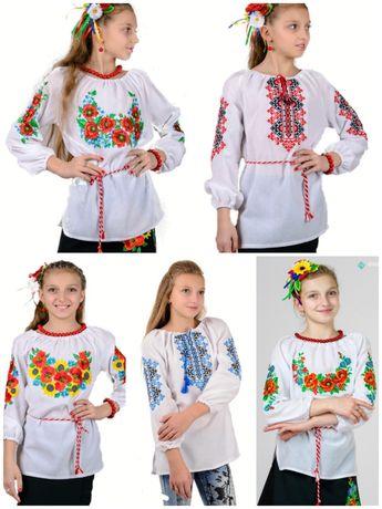 Вышиванка детская подростковая, блуза, платье, юпка