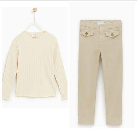 Штаны (брюки, штанишки) и реглан (кофта, кофточка) zara