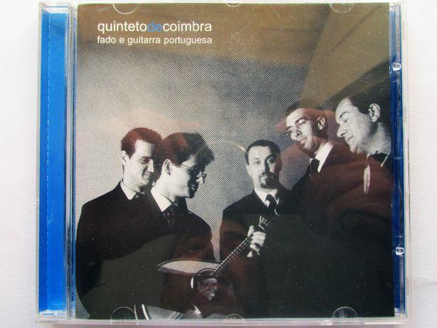 CD - Qunteto de Coimbra, Fado e Guitarra Portuguesa, raro, como novo