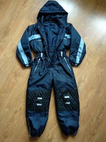 Kombinezon narciarski zimowy na sanki rozmiar 140
