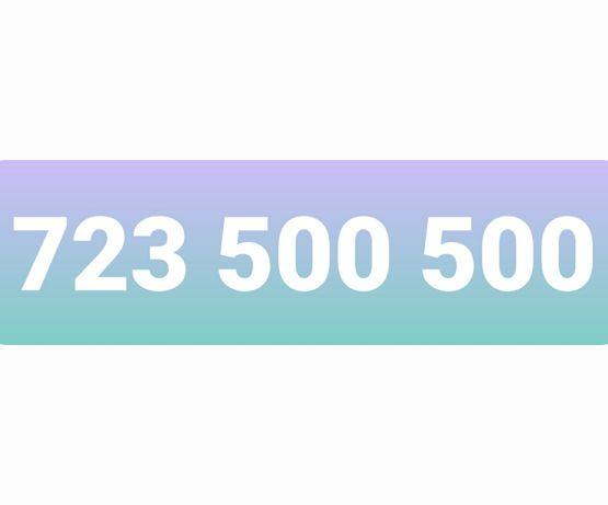 zloty numer 723_500_500 platynowy numer