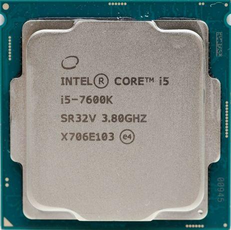 Процессор i5 7600K 3.8GHz 6Mb Intel Core 1151 SR32V   Гарантия 1 Год