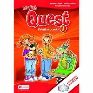 English Quest 1 Książka ucznia Macmillan
