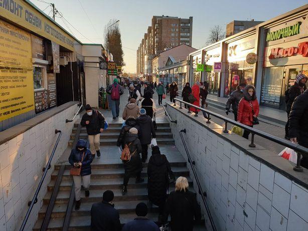 """Аренда магазина по красной линии на выходе из метро """"Холодная гора!"""