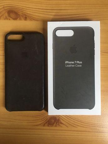 Case Apple iPhone 6 i 7 plus skora naturalna
