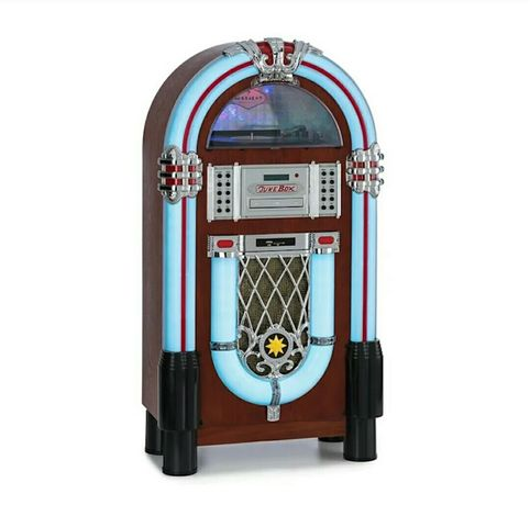 Szafa grajaca radio retro gramofon wieża boombox amplituner sd  -50%
