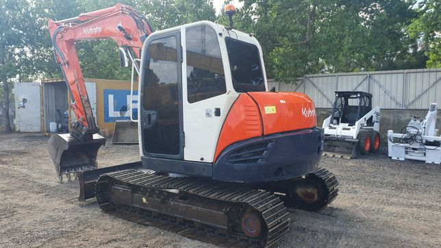 Mini escavadora Kubota KX080,  2012