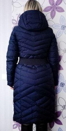 пуховик удлиненный зимнее пальто
