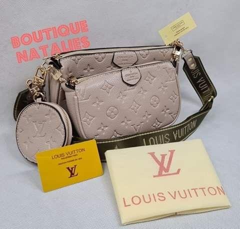 Torebka LV Louis Vuitton Pochette 3 w 1 brudny róż Nowa