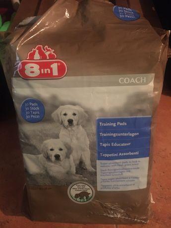 Podklady dla szczeniaka 8w1 o zapachu trawy