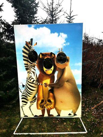 Ścianka do fotografowania Madagaskar