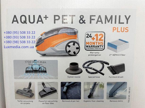 Пылесос моющий Thomas Aqua + Pet & Family Plus с мешком и аквафильтром
