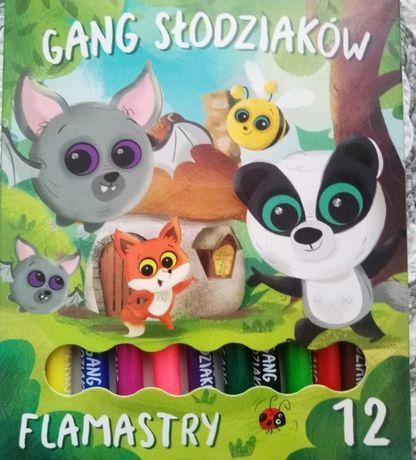 Flamastry St. Majewski Gang Słodziaków 12 sztuk