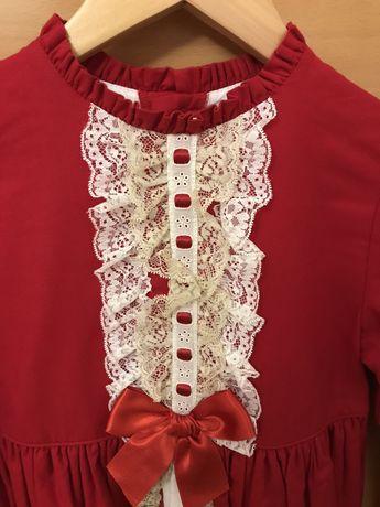 Vestido vermelho ideal Natal 8 anos