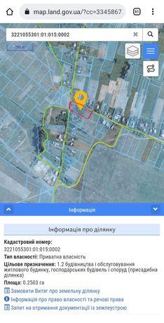 Продаж земельної ділянки Київська область. Бабинці