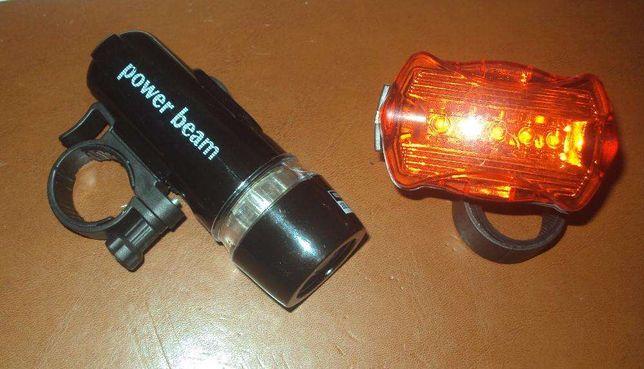 LUZ LED Frontal e Traseira para Bicicleta NOVO