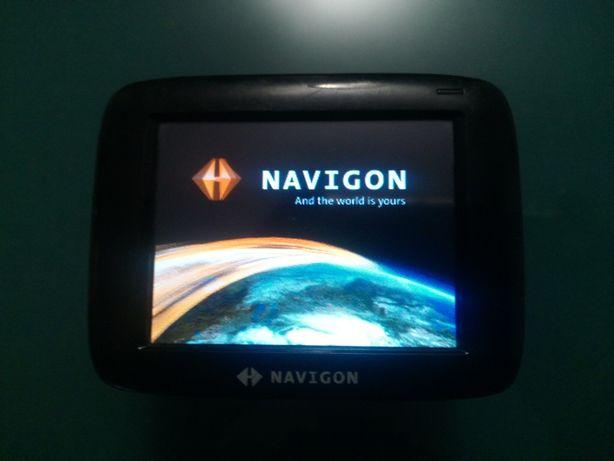 GPS Navigon com mapas Portugal e Espanha