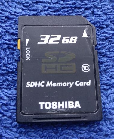Sd 32 Гб Toshiba