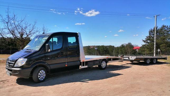 Transport Samochodowy Autolaweta Transport Aut do 3.5t