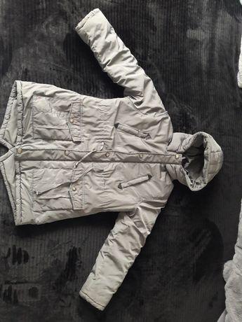 Kurka zimowa na ok 12 lat 152 ocieplana futerkiem