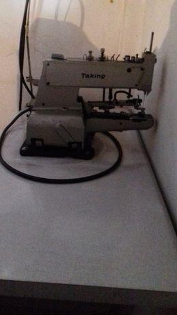 Máquina de Costura de Pregar Botão Taking TB-372