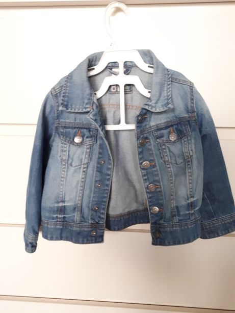 H&m kurteczka jeansowa 1,5-2 latka!
