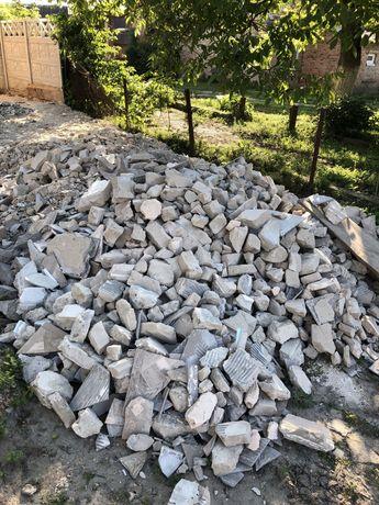 Будівельні відходи ,бій бетону